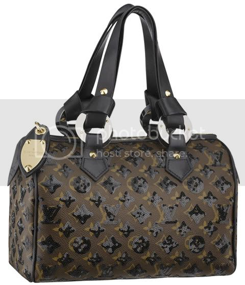 EclipseSpeedy28Black Louis Vuitton Monogram Eclipse Speedy 28