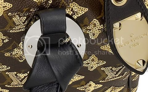 EclipseSpeedy28Detail4 Louis Vuitton Monogram Eclipse Speedy 28
