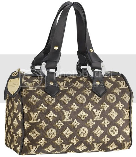 EclipseSpeedy28Gold Louis Vuitton Monogram Eclipse Speedy 28