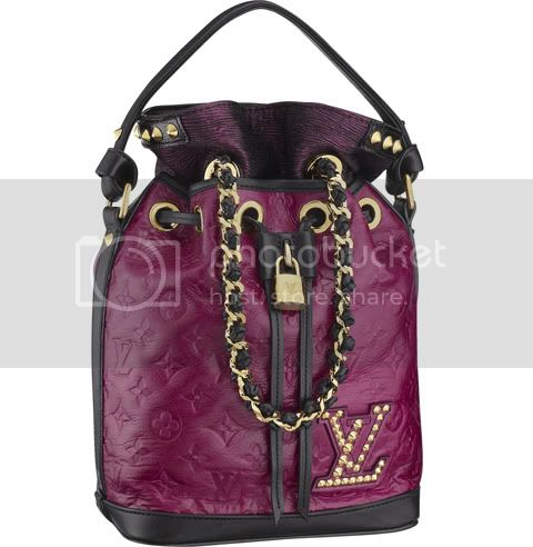MonogramDoubleJeuNeoNoeCranberry Louis Vuitton Monogram Double Jeu No No
