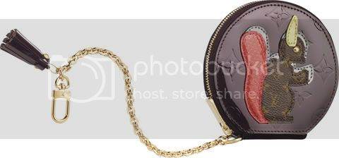 MonogramVernisAnimauxCoinPurseEcure Louis Vuitton Animania Collection