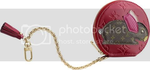 MonogramVernisAnimauxCoinPurseLapin Louis Vuitton Animania Collection