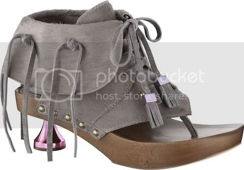 DaisyThonginPony StyledCalfLeatherG Louis Vuitton Spring/Summer 2010 Womens Runway Shoes